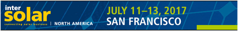 TerraGen will be attending the Intersolar Show in San Fran